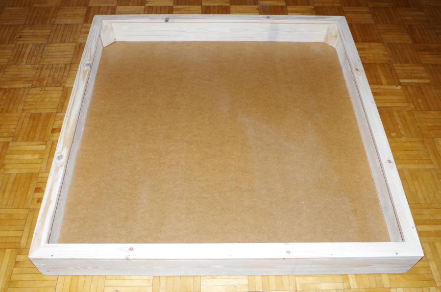 Piaskownica 120 x 120 x 20 cm